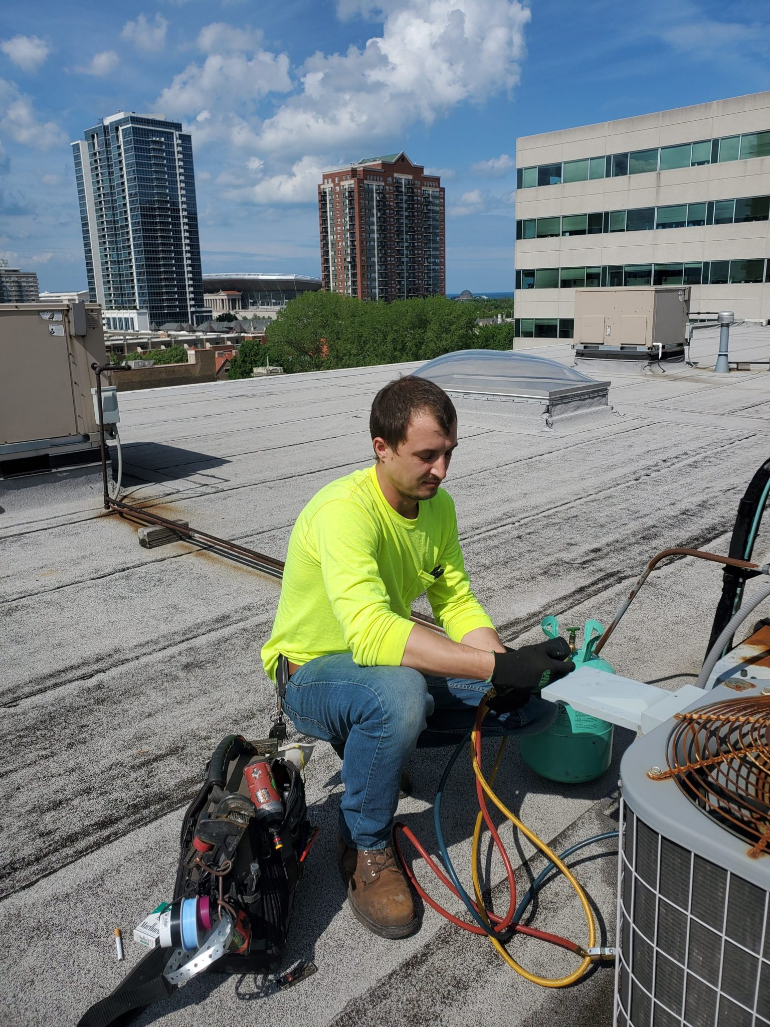 air conditioning repair in Chicago IL