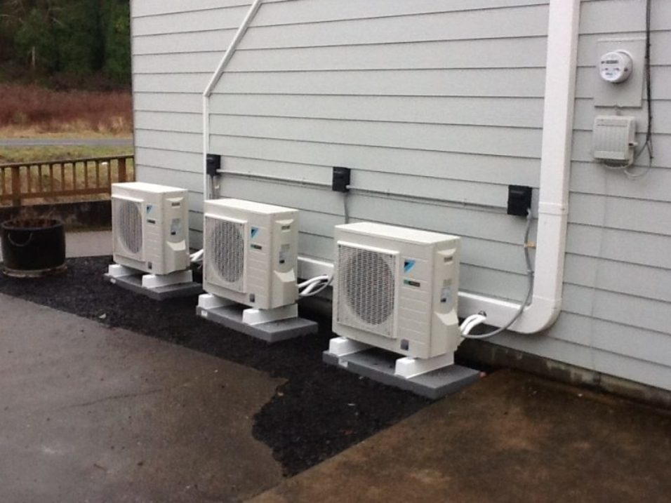 ductless heat pump services